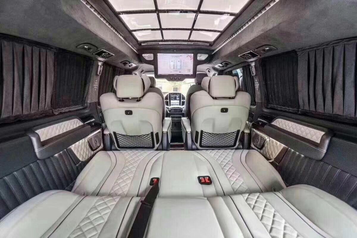奔驰威霆房车改装低价高配 助力企业成功