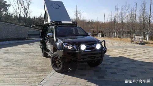 """征服猎鹰D-MAX """"勘路者""""改装车,可旅行的越野房车"""