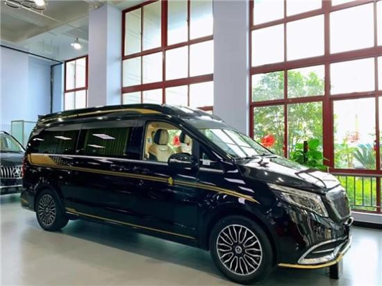 奔驰房车V260改装新款价格 杭州7座房车报