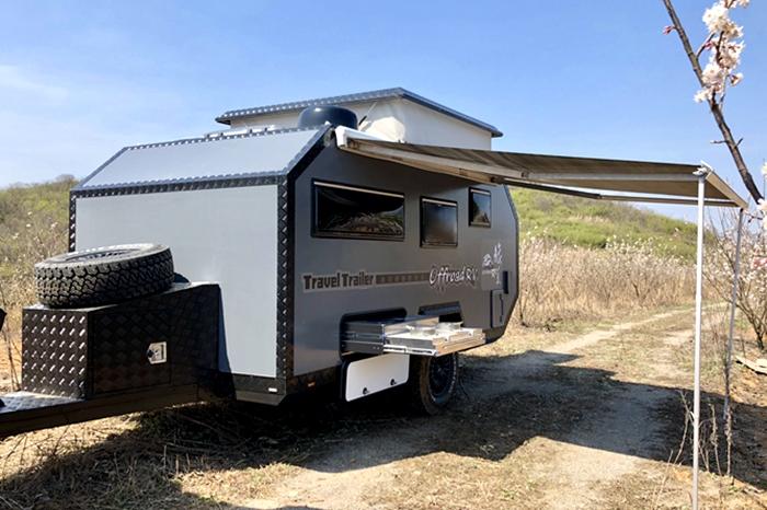 越野拖挂房车的设计初衷就是适合家庭使用!