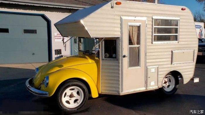 见过甲壳虫改装的房车吗?开出去比豪华车拉风!