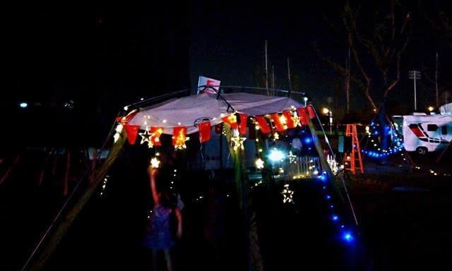 伊甸园房车营地惊艳亮相月亮岛
